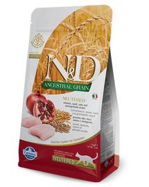 FARMINA N&D Low Ancestral Grain Codfish & Orange Adult Cat 5 kg